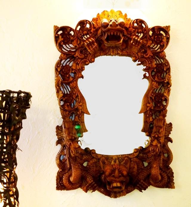 鏡 壁掛け/バロン