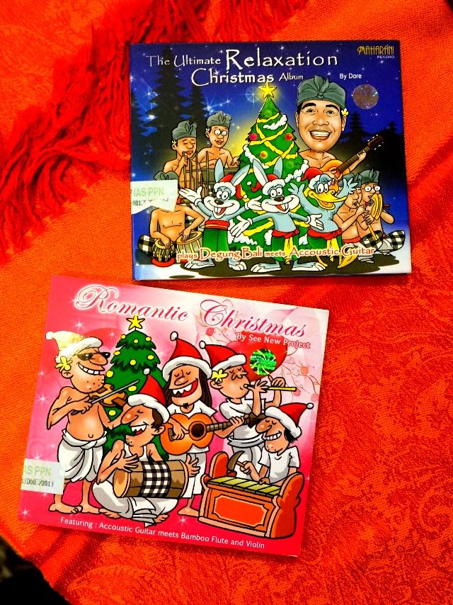 クリスマスCD/バリ雑貨