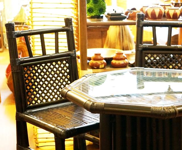 テーブル&チェア/バンブー家具