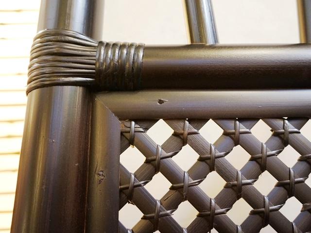 テーブル&チェア/ブラックバンブー家具