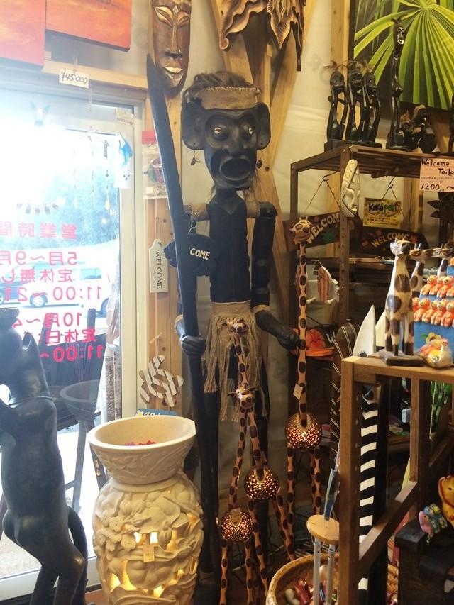 木彫り 原住民