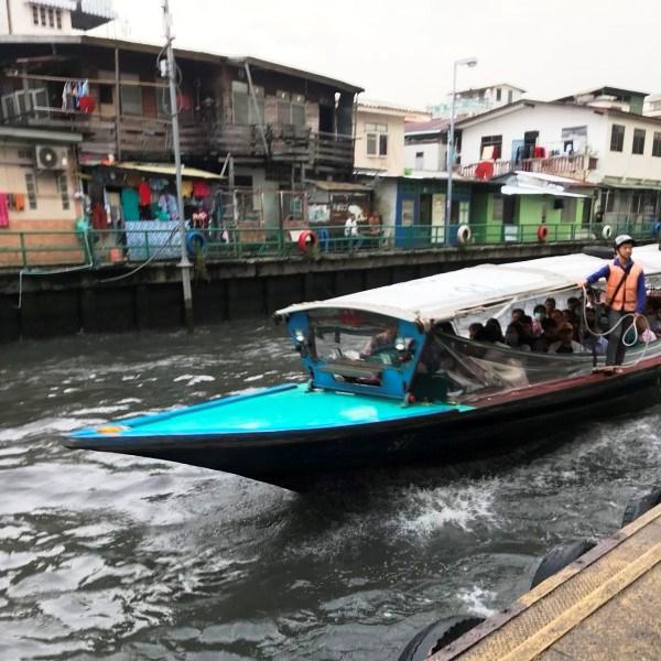 水上バス バンコク