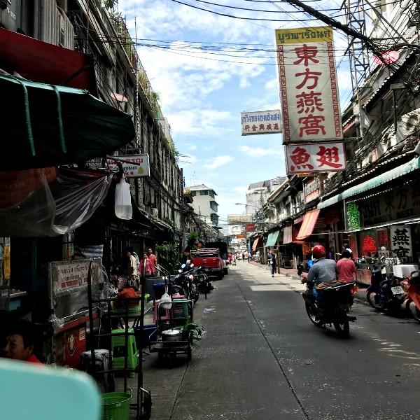 ヤワラート バンコク中華街