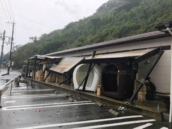 台風7号 バリタイ