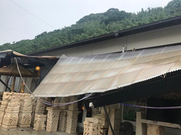 台風被害 バリタイ