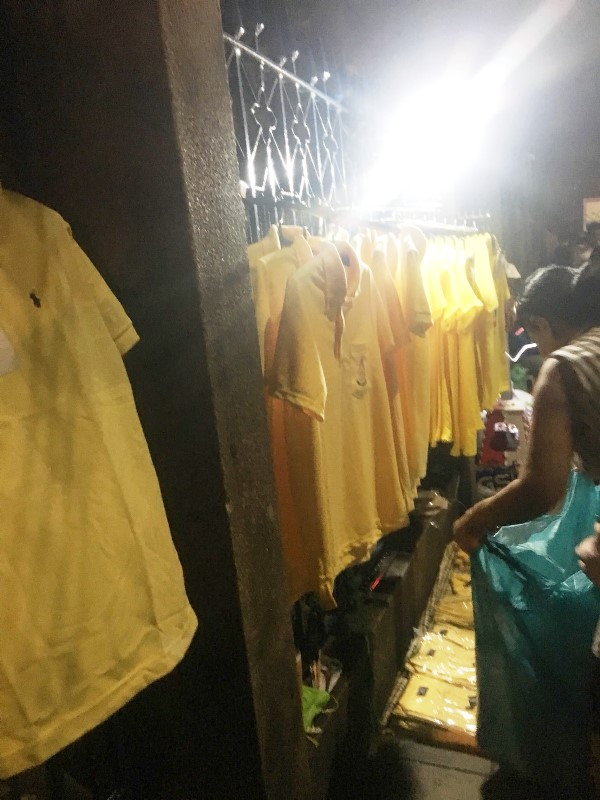 タイ 黄色