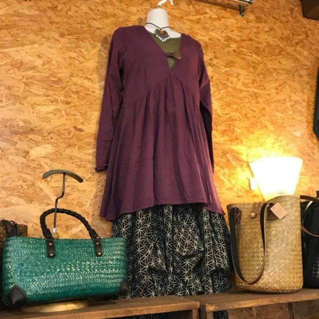 秋冬ファッション/エスニックファッション