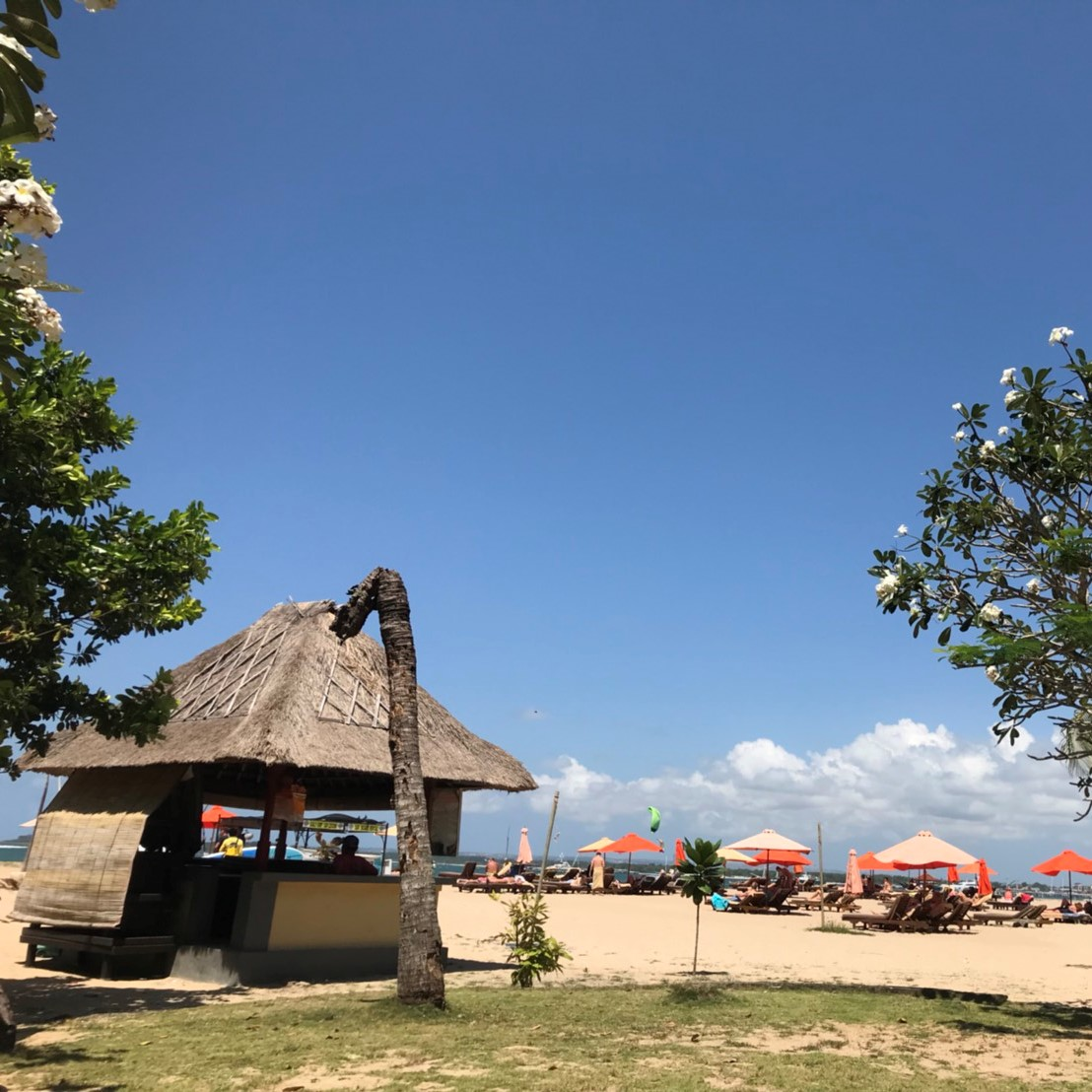サヌール,サヌールビーチ