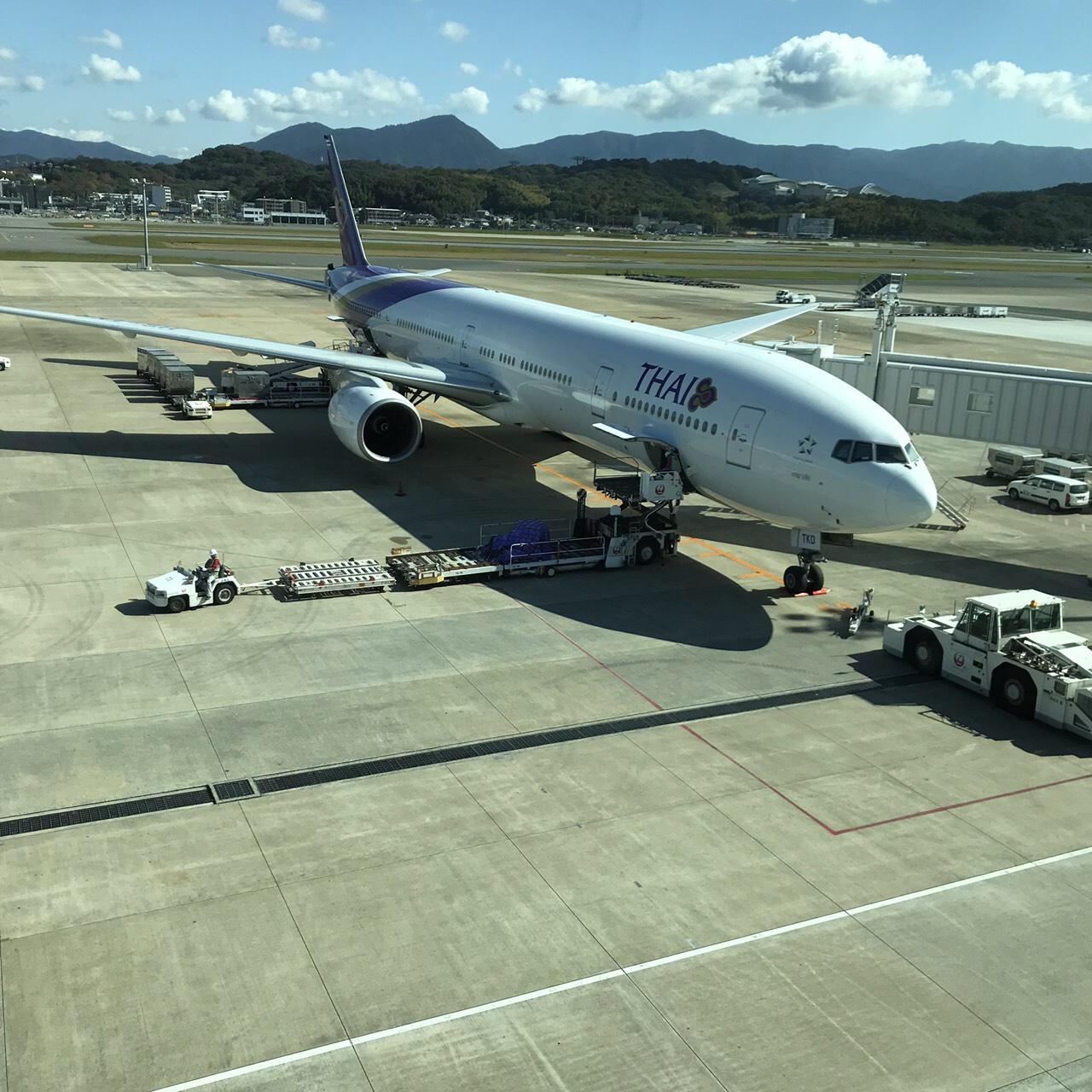福岡空港/仕入れ出発