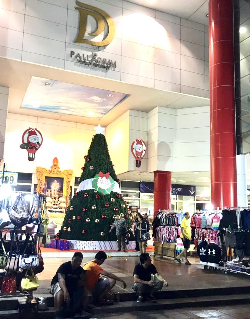 バンコク クリスマスイルミネーション