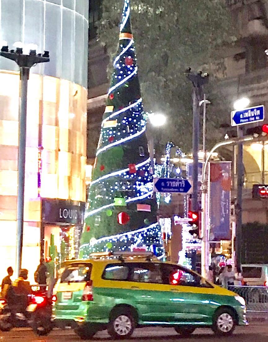 タイバンコク クリスマスイルミネーション