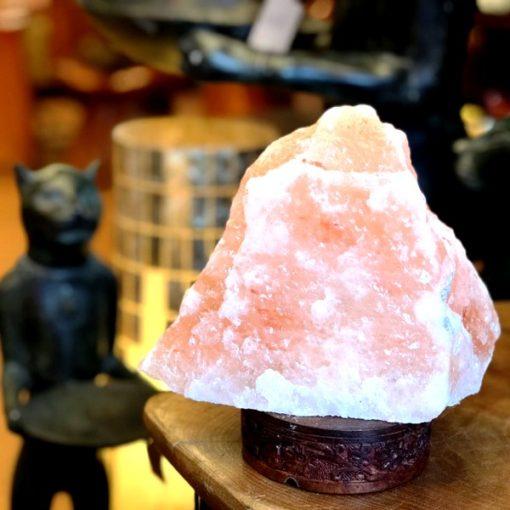 岩塩ランプ/ヒマラヤンピンクソルトランプ