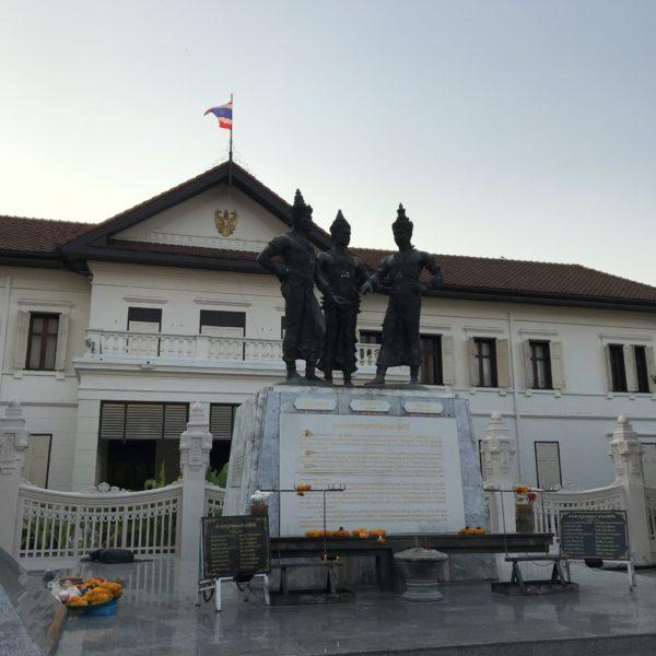 3人の王様の記念碑/チェンマイ