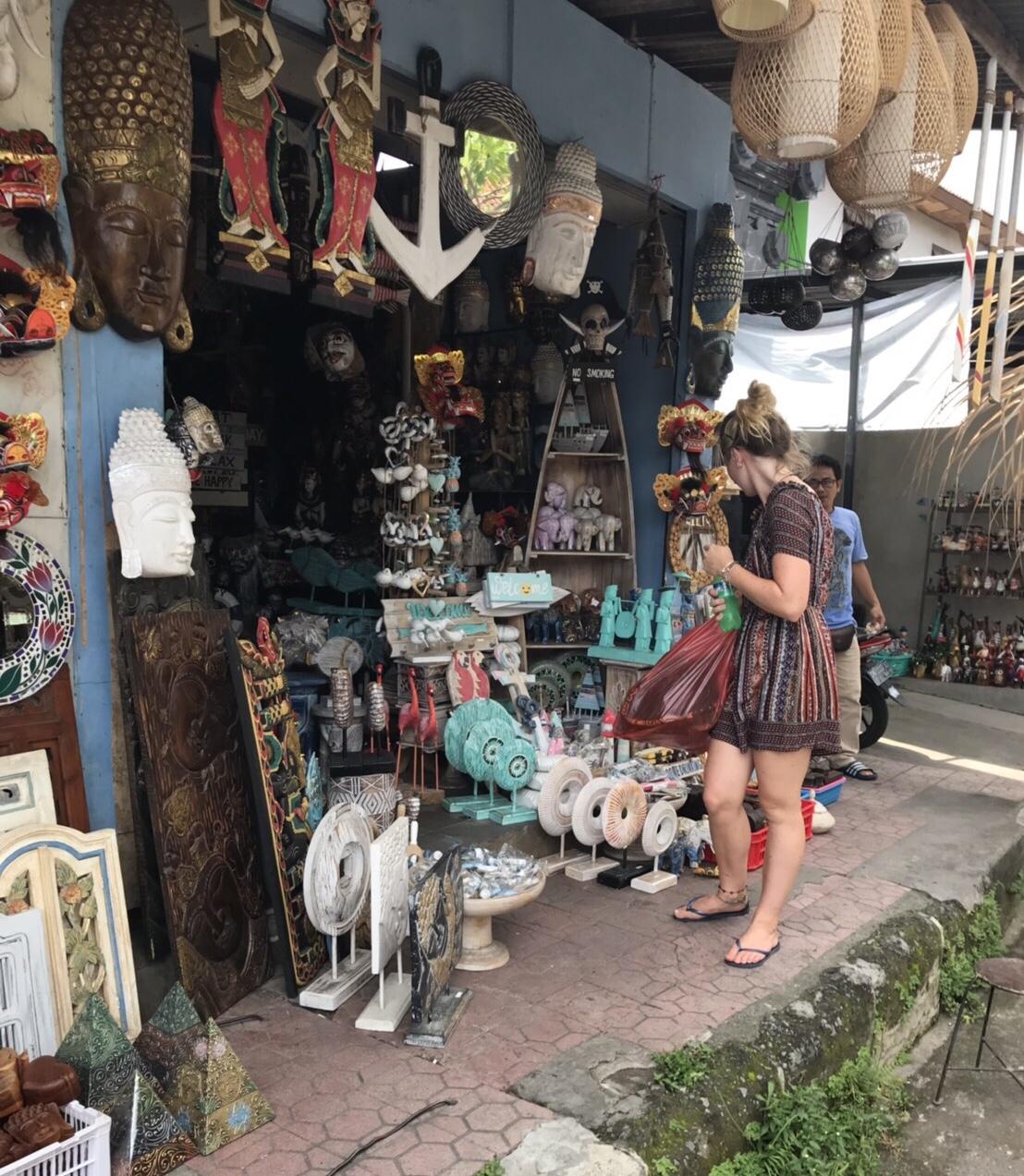 スカワティー市場/バリ島