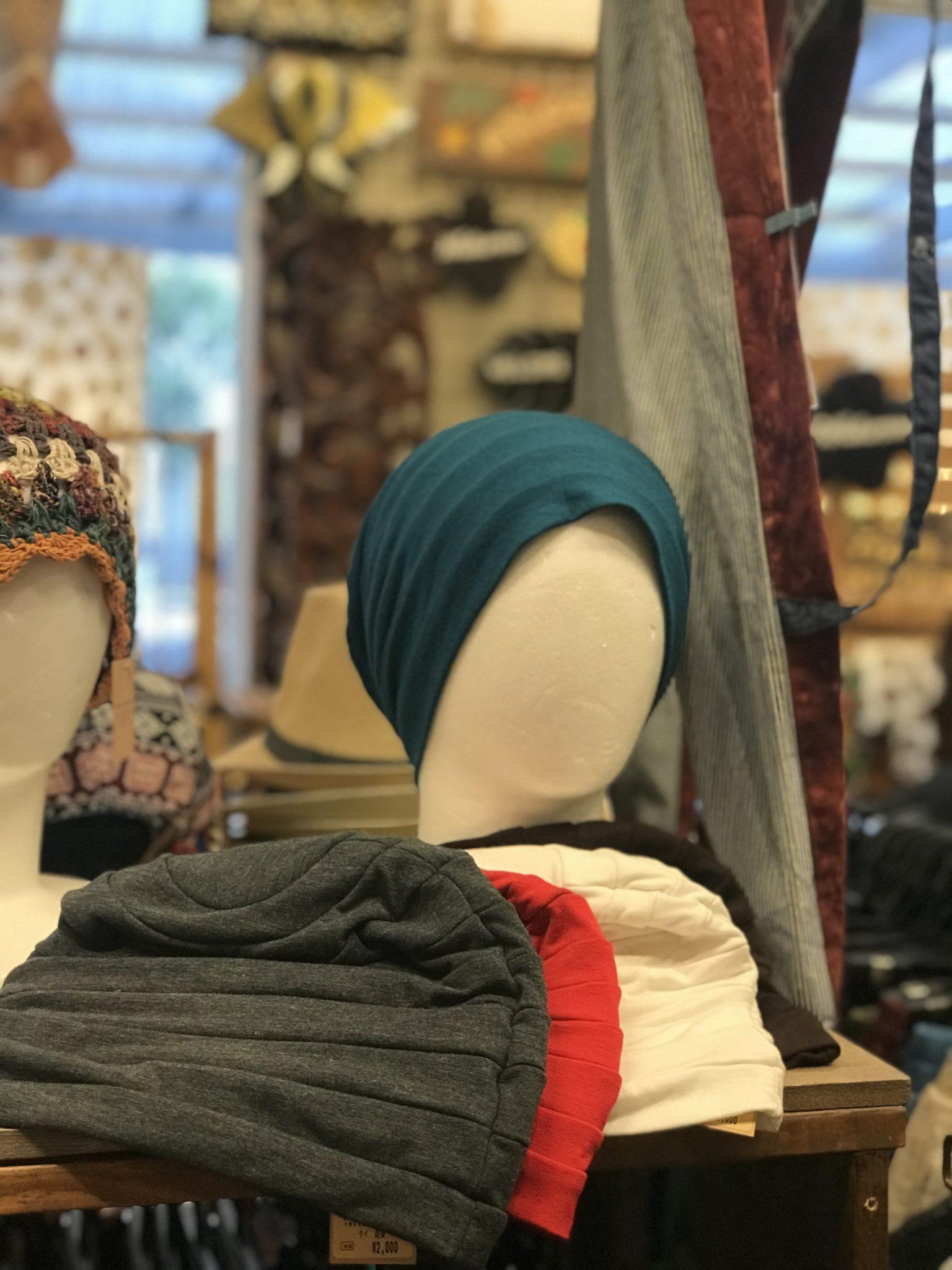ニット帽/エスニックファッション