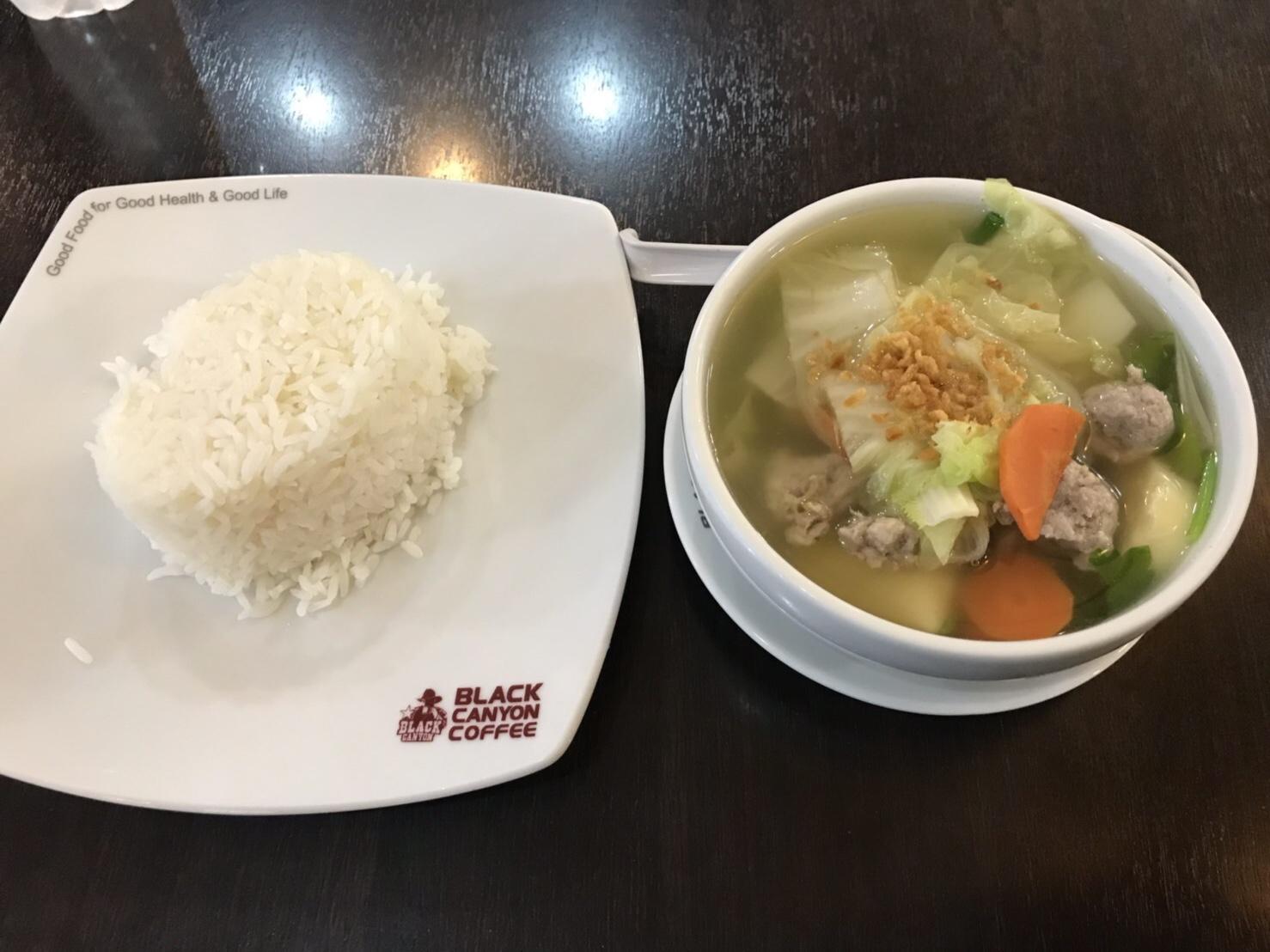ゲンチョウモーサ/魚団子スープ
