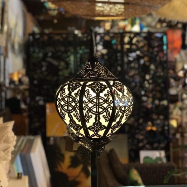 切り絵ランプ/ぼんぼり