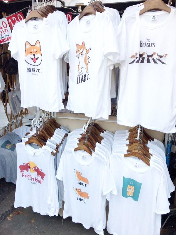 ワンニャンTシャツ/チャトチャック・ウィークエンド・マーケット