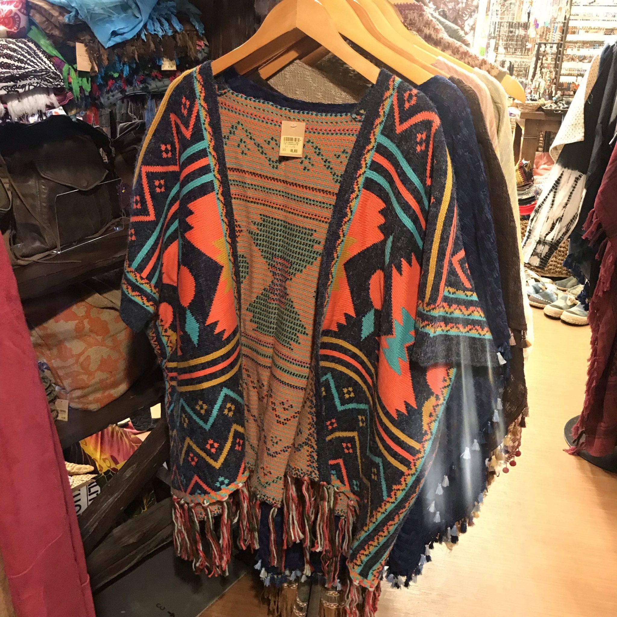 エスニックファッション 羽織り