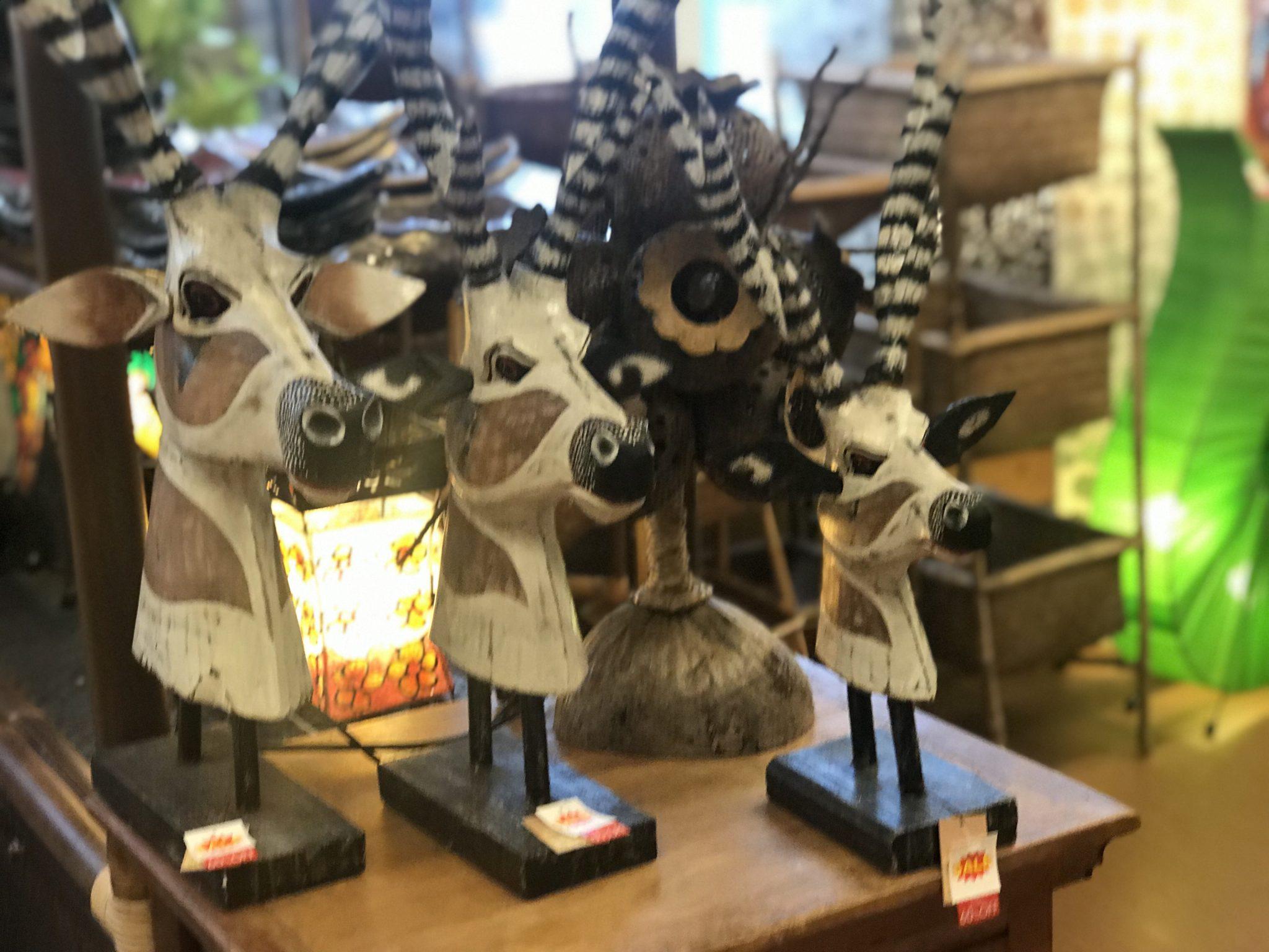 バリ島 木彫り