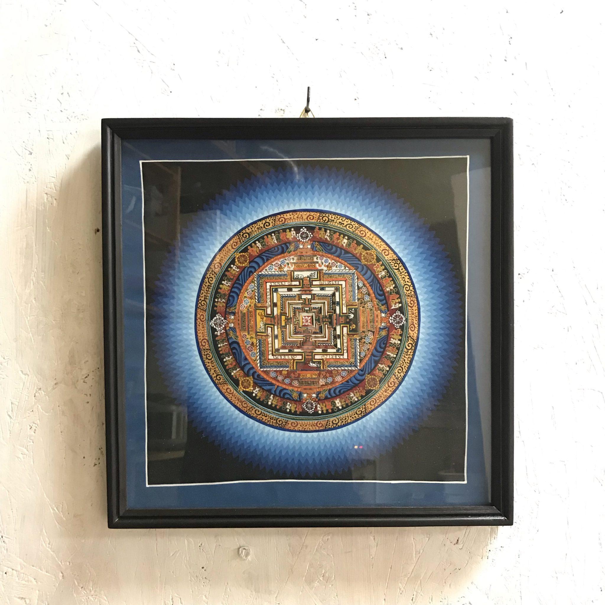 曼荼羅 タンカ 時輪タントラ