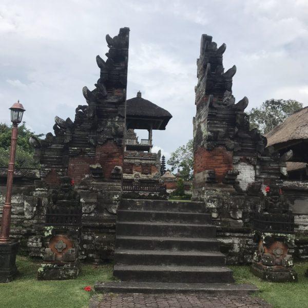 タマン・アユン寺院/割れ門