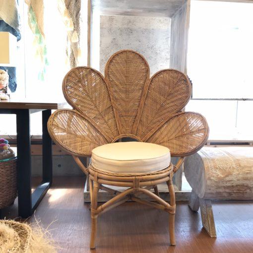 ラタンのチェア/バリ島家具