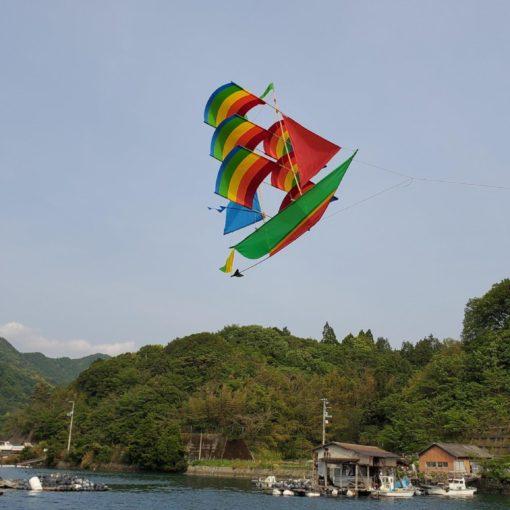 凧/帆船型の凧