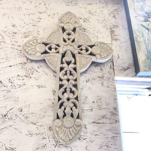 十字架/木製十字架/バリ雑貨