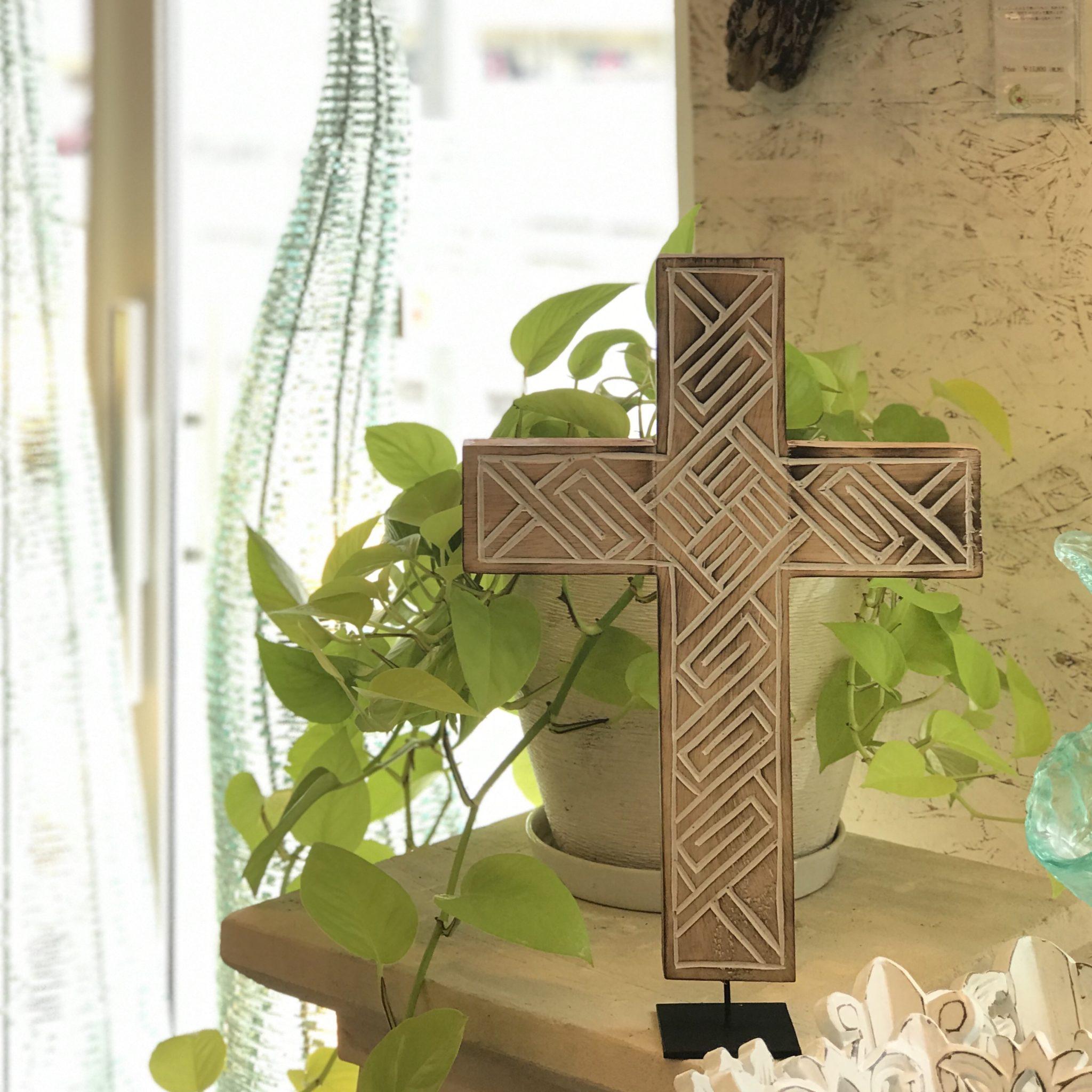 ティモール 十字架/バリ雑貨
