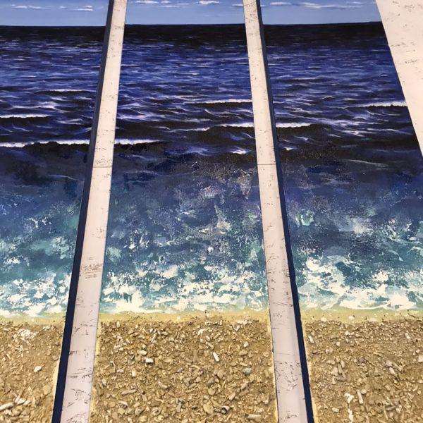 絵画/サンゴの立体アート