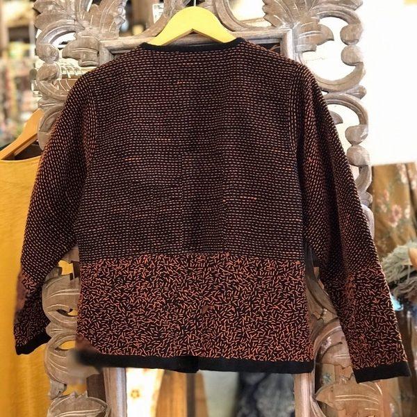 刺し子のジャケット/エスニックファッション