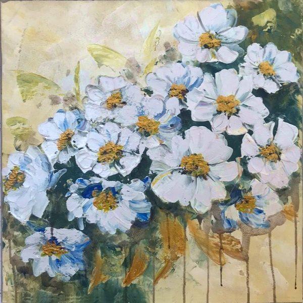 ケシ科の白い花