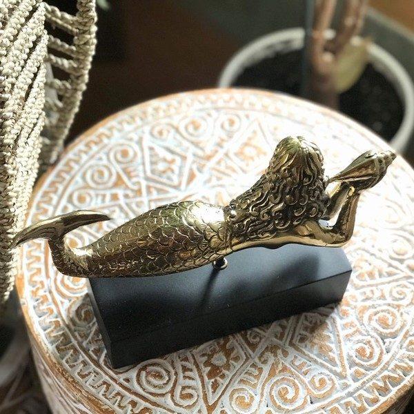 人魚・真鍮