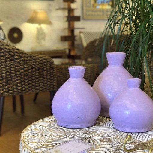 テラコッタ フラワーベース 花瓶