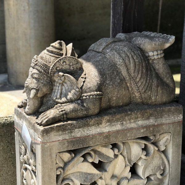 ガネーシャ 石像