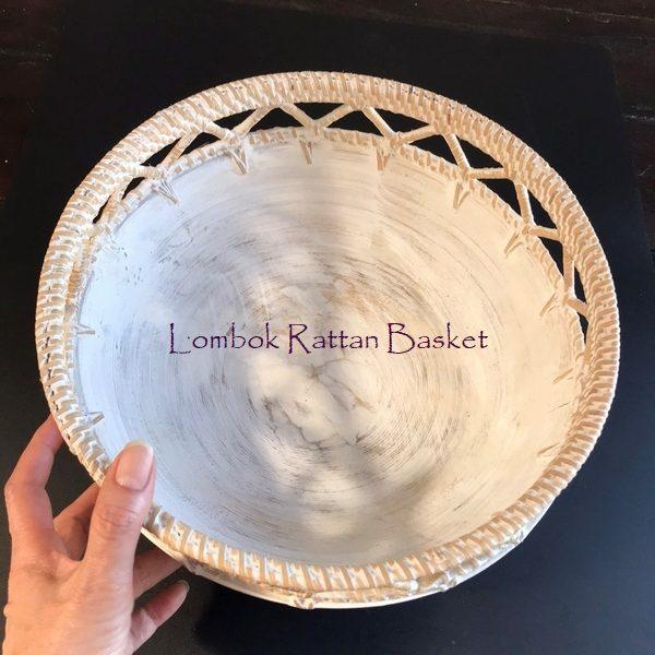 ロンボク ラタン バスケット