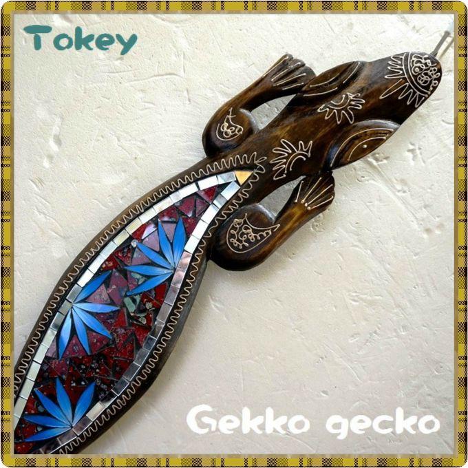 トッケイ木彫り/バリ風インテリア
