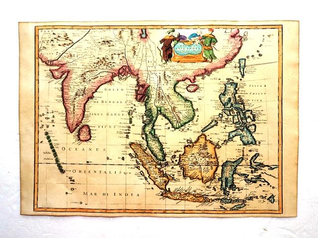 タイ古地図