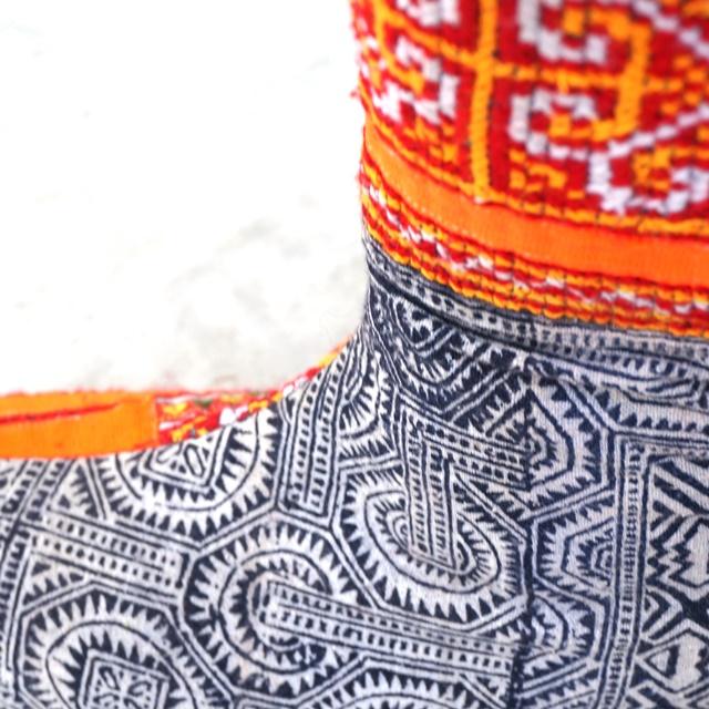 モン族ブーツ/エスニックファッション