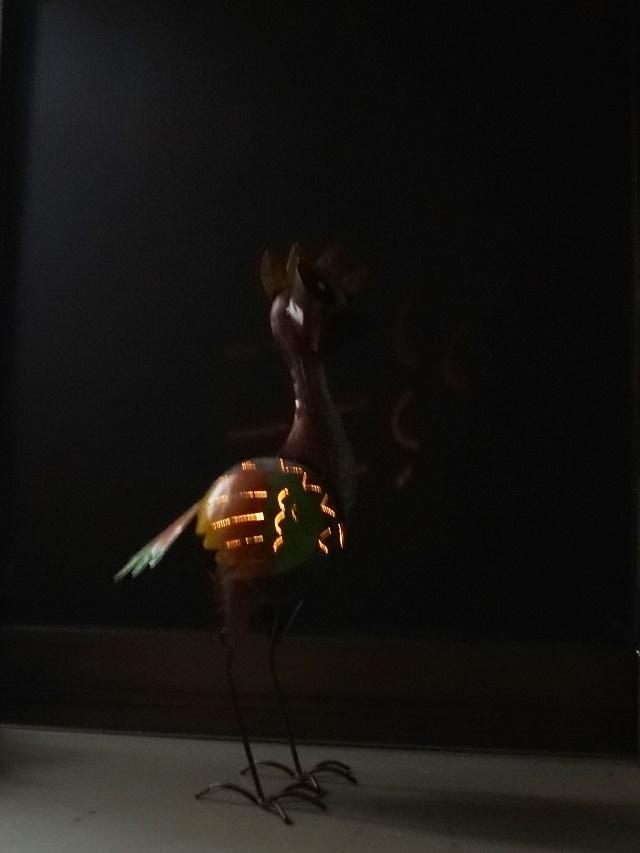 アイアン キャンドルホルダー/鳥