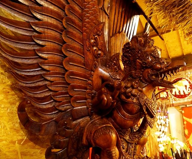 ガルーダ神像/アジアンインテリア