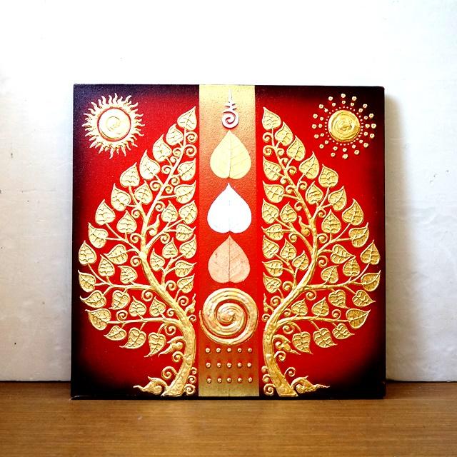 生命の樹/絵画/アジアンインテリア