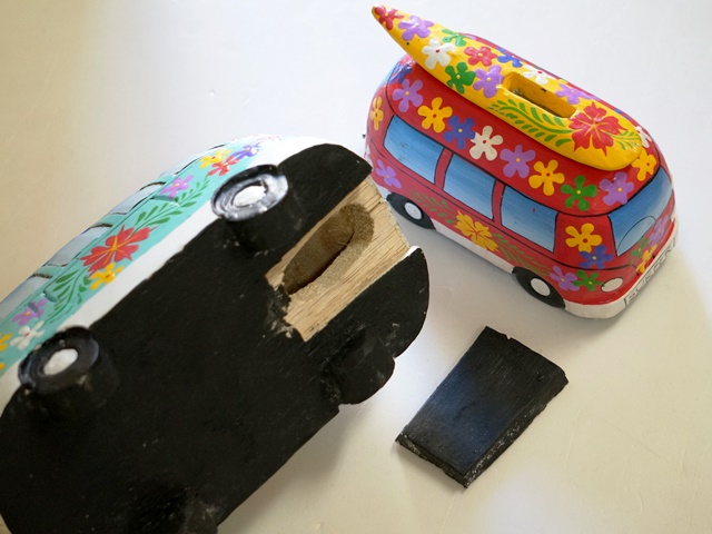 ワーゲンバス 貯金箱