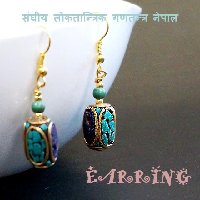 ピアス ネパール雑貨