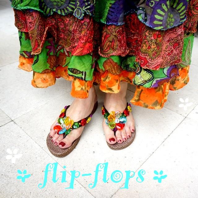 サンダル/エスニックファッション