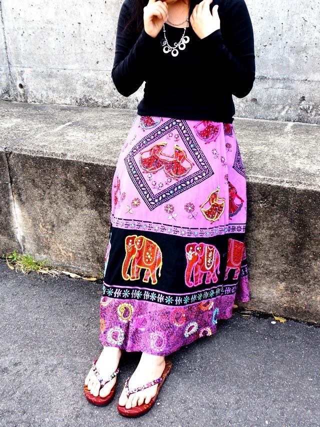 巻きスカート/エスニックファッション