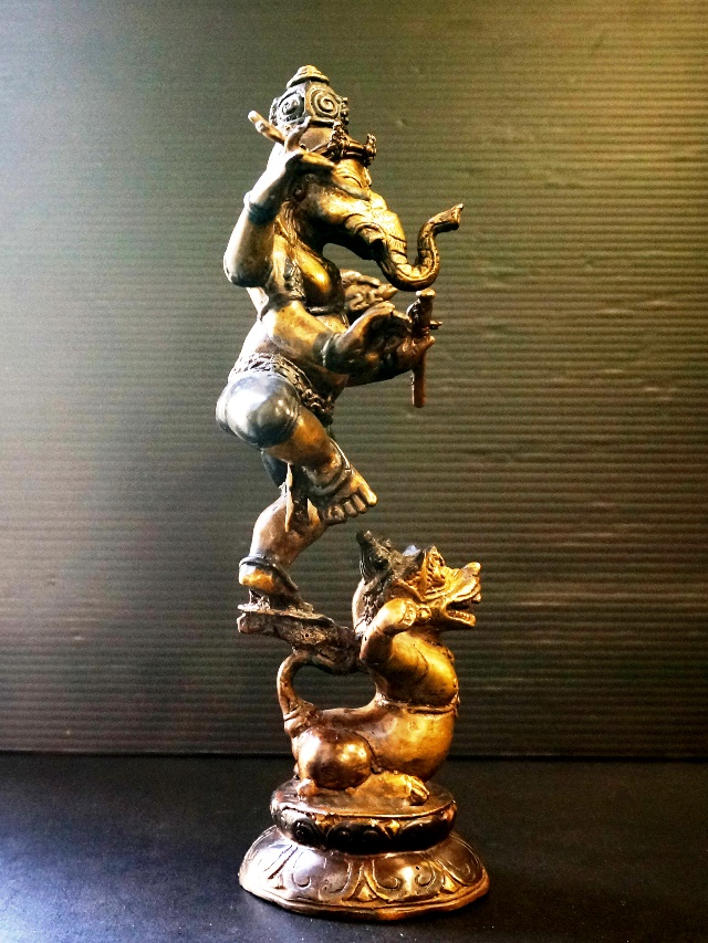 ダンシングガネーシャ/踊るガネーシャ/アジアンインテリア