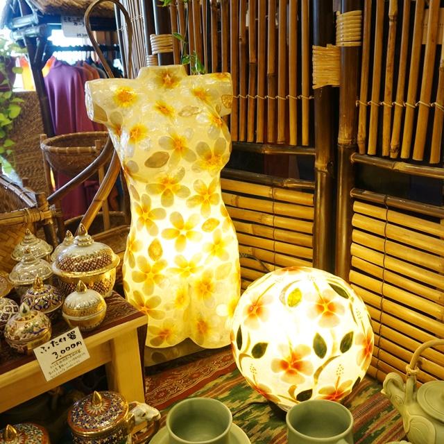 卓上ランプ/アジアンリゾートインテリア