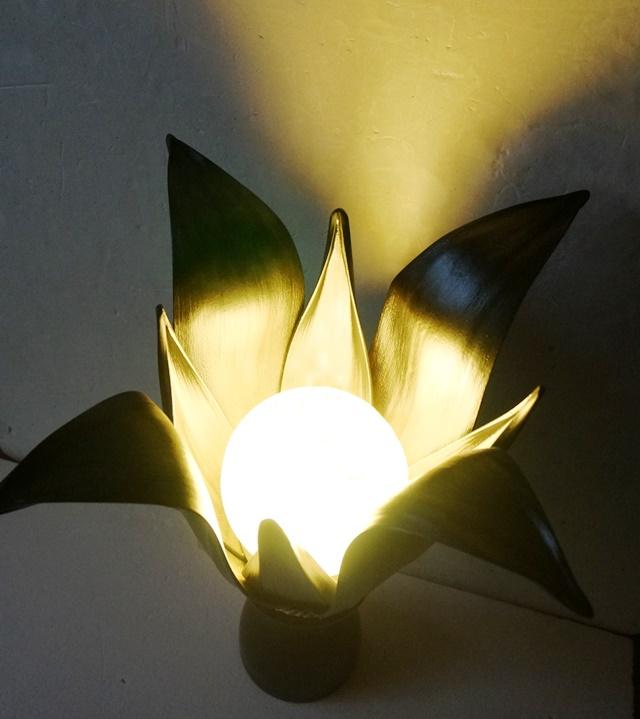 バリランプ/椰子の葉